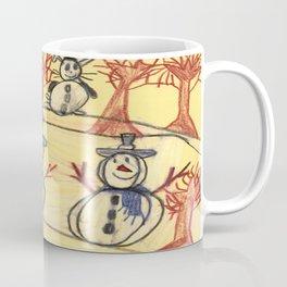 Snowman Contest Coffee Mug