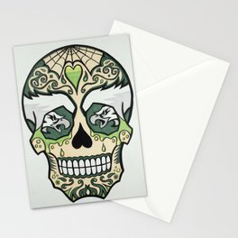 Eagles Sugar Skull Stationery Cards