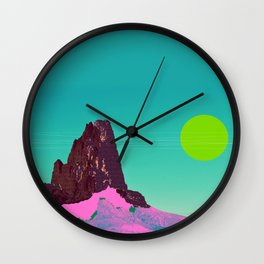 I wear my sunglasses at night Wall Clock