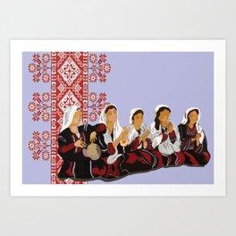 women in song Art Print