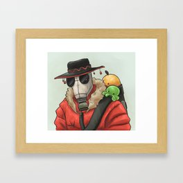 TF2 Pyro Framed Art Print
