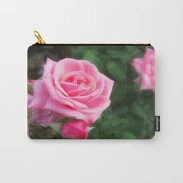 Pink Roses in Anzures 1 Carry-All Pouch