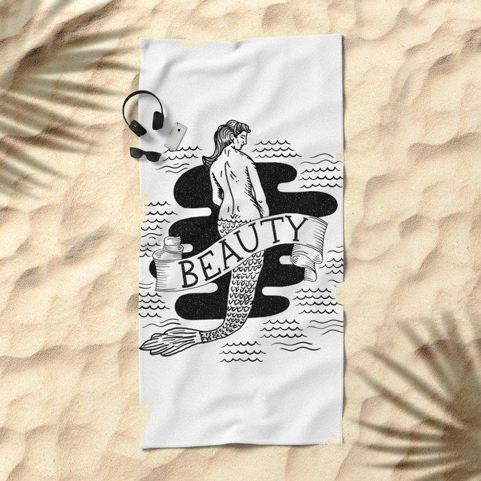 Gentle Beauty Beach Towel