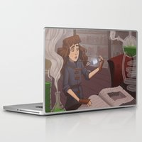 chemistry Laptop & iPad Skins featuring Chemistry Room by Alyssa Tallent