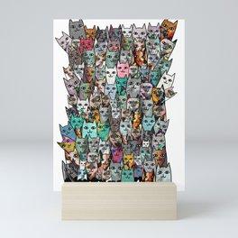 Gemstone Cats Mini Art Print