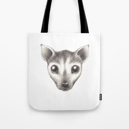 Spectacled Flying Fox Tote Bag