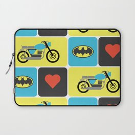 The Bike & The Bat Laptop Sleeve
