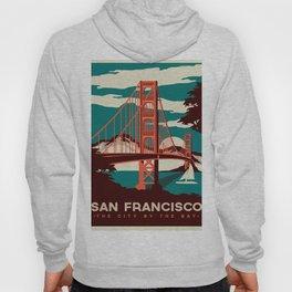 Vintage poster - San Francisco Hoody
