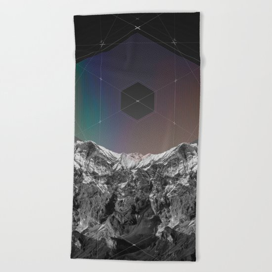 It Cannot Block Out the Sun Beach Towel