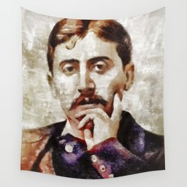 Marcel Proust, Literary Legend Wall Tapestry
