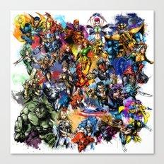 Marvel MashUP Canvas Print