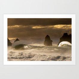 Cyclone Pam Art Print