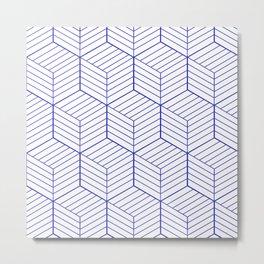 ZADA ((berry blue)) Metal Print