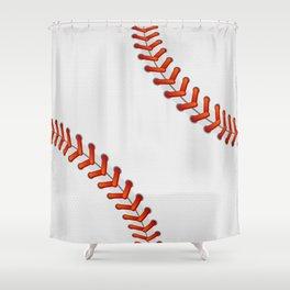 Baseball Shower Curtain