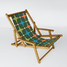 Mid Century Modern Star Pattern 934 Sling Chair