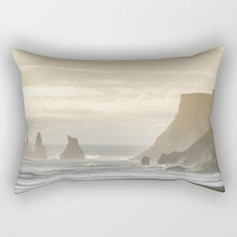 Reynisdrangar. Rectangular Pillow
