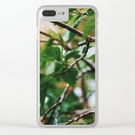 Veins of Nature Clear iPhone Case