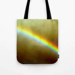 in rainbows Tote Bag