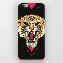 Tiger 3 Eyes iPhone Skin