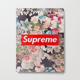 supreme flower Metal Print