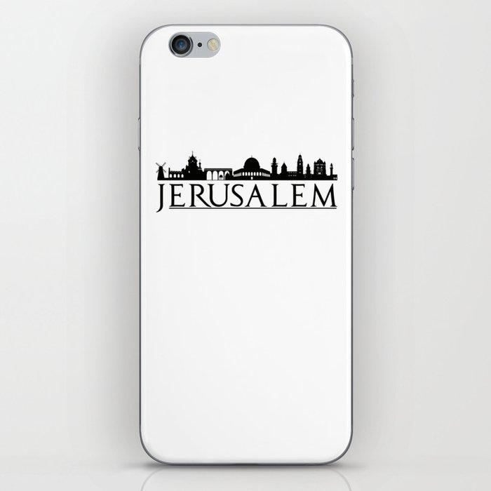 Jerusalem Israel Middle East Love Travel iPhone Skin