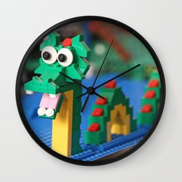 Leggo My Sea Monster Wall Clock