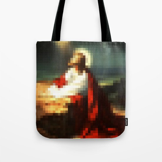 Digital Jesus Tote Bag