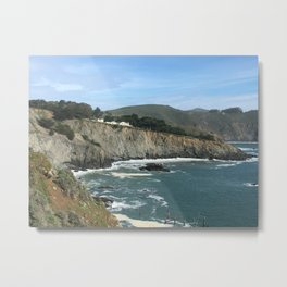 Marin Headlands Coastline Taken By a Future Rocket Scientist Metal Print