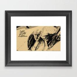 I want to talk Framed Art Print