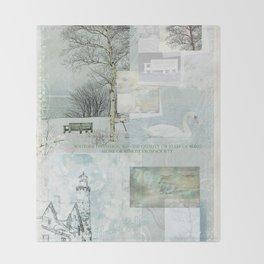 Solitude Throw Blanket