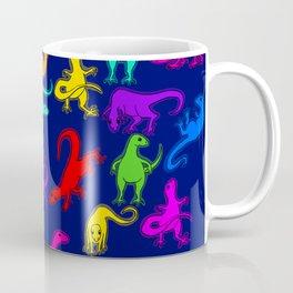 navy dino Coffee Mug