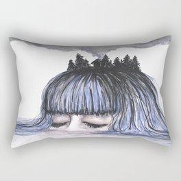 Clouded Mind Rectangular Pillow