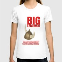 lebowski T-shirts featuring BIG LEBOWSKI by FunnyFaceArt