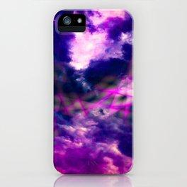 Rainbows clouds iPhone Case