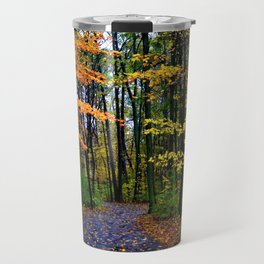 When it rains in the woods Travel Mug