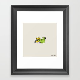 Hulk Sad Framed Art Print