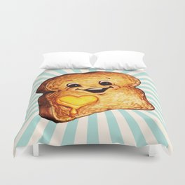 Toast Duvet Cover