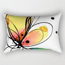 Ecstasy Bloom No.8 by Kathy Morton Stanion Rectangular Pillow