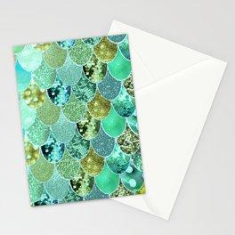 Mermaid Skin Shimmer Stationery Cards