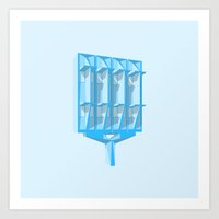 Boca Raton IBM Art Print