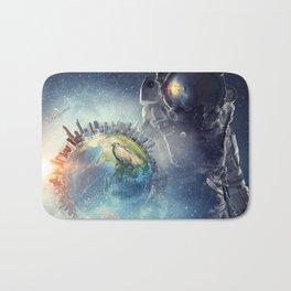 Galaxy astronaut 2 Bath Mat