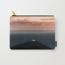 Lonely House by the Sea during Sunset - Landscape Photography Carry-All Pouch