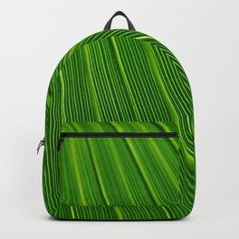 Green leaf in the tropics Backpack