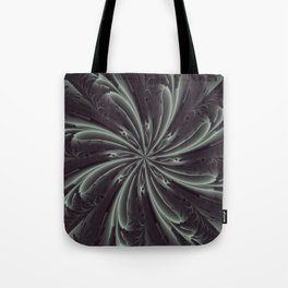 Out of the Darkness Fractal Bloom Tote Bag