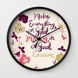 Make Everything Wall Clock