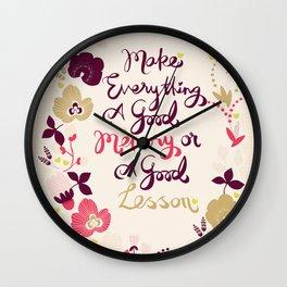 Make Everything Wall Clock