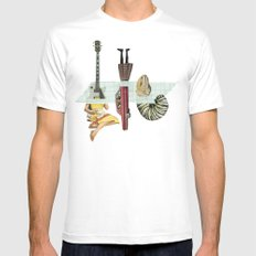 the three musketeers SMALL White Mens Fitted Tee