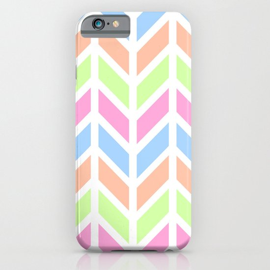 SPRING CHEVRON 3 iPhone & iPod Case