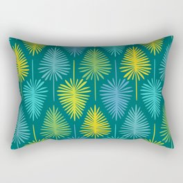 Retro Spring Nature Print II Rectangular Pillow