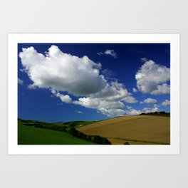 The Rolling Downs Art Print